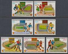 Guinea Guinée 1982 ** Mi.913/19 A Fußball Football [st3360]