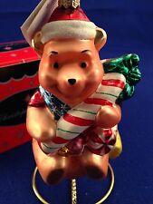 Radko Disney Candy Cane Pooh MIBWT Very Rare Hard to find