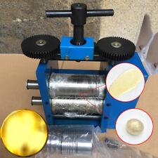 Metal Steel Jewelry Combination Rolling Mill Machine DIY Tabletting Tool Blue