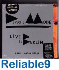 Depeche Mode - Live in Berlin Deluxe 2DVD+2CD+Bluray Boxset Sealed- 2014 Sony EU
