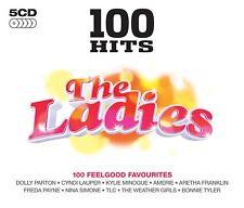 100 Hits The Ladies 5-CD Box Set NEW SEALED LaBelle/Nena/Sinitta/Martika/Baccara