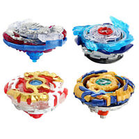 4x Burst Metal Fusion Spinning Top No Launchers Fighting Toys Kids Collection