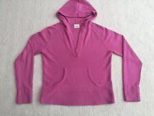 Next Womens Pink Hooded Vneck Jumper Size 14