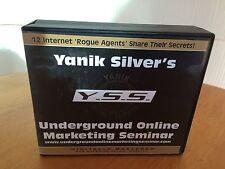 Yanik Silver's Underground Online Marketing Seminar - 14 Power Packed Audio CDs!
