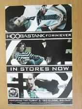 Hoobastank Fornever 2009 Original Promo Poster