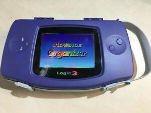 Advance Organizer Logic 3 Nintendo Gameboy Advance storage case