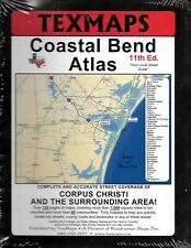 Coastal Bend Atlas; Texas Street Guide, Corpus Christi Area, by Texmaps NEW!!