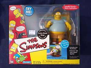 THE SIMPSONS WORLD OF SPRINGFIELD EXCLUSIVE COMIC BOOK GUY WITH COMIC BOOK SHOP