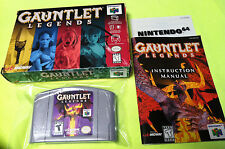 Gauntlet Legends 64 Complete in Box Nintendo 64