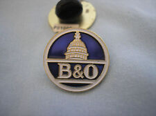 RAILROAD HAT PIN - BALTIMORE AND OHIO (THE B&0)