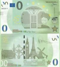 Biljet billet zero 0 Euro Memo - Le Petit Prince (057)
