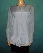 camisa THE KOOPLES azul y blanco talla XL o 42 EXCELENTE ESTADO