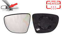 Left Side Heated Door Wing Mirror Glass And Base For Renault Clio 2012 - Onwards