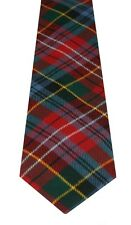 CALEDONIA  MODERN TARTAN  PURE WOOL TARTAN TIE Choose From 400 tartans