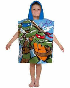 TEENAGE MUTANT NINJA TURTLES  ~   Hooded Towel Poncho.