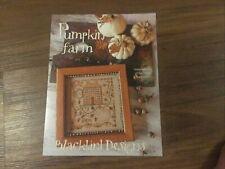 Pumpkin Farm Cross Stitch Pattern By Blackbird Designs