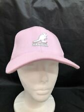 Unisex Kangol Pink Kangaroo Wool Flexfit Baseball Cap Small OSFA Embroidered