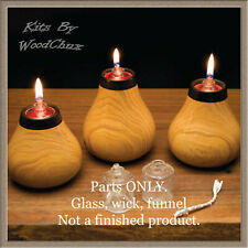 Confetti Votive Candle Light Insert Lathe Woodturning Kit WoodChux Fast Shipping