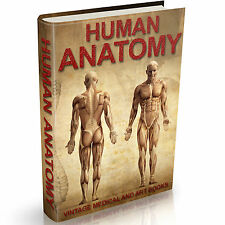 Human Anatomy Books on DVD Old-Medical - Art - Greys Anatomy - Organs - Surgical