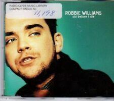 (BU665) Robbie Williams, Old Before I Die - 1997 DJ CD