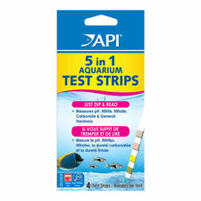 API 5 in 1 Aquarium Test Strips Fresh and Salt Water  New!