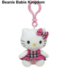 TY Hello Kitty * Tartan * KEY CLIP