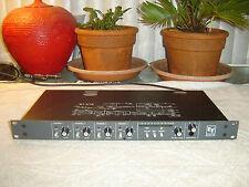 EV ELX-1R, 4 Channel Broadcast Mic Line Mixer Preamp with Limiter, Vintage Rack