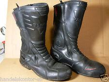 Vanucci VTB1 Motorrad Stiefel Boots Gr. 44 Echtleder Sympatex Wasserdicht