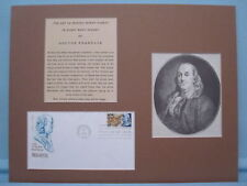 Ben Franklin - Art of Making Money & First day Cover