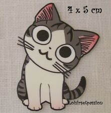 T002 - Patch Applique, Dessin Transfert thermocollant, CHAT TIGRE, sérigraphie