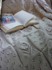 PatternTo Knit Gorgeous  Bedcover/Throw In  Sirdar Eco D.K.- Size 53 x 34ins