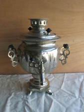 alter russischer Samowar Teemaschine Tee Zubereiter Rußland Dekoobjekt
