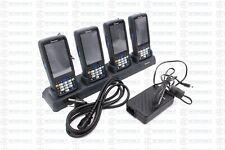 4x Intermec CN51 CN51AN1KCU2W3000 PDA MDE 2D Barcode-Scanner + AD24 + Netzteil 2