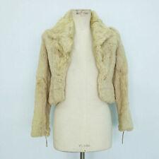 Cappotti e giacche da donna Bianca in pelliccia
