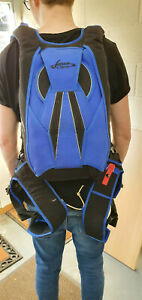 Javelin Odyssey RSK Full Skydive Rig / Kit Immaculate Condition <150 Jumps Blue