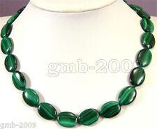 New 13x18mm Green Malachite Gemstone Pendant Necklace 18''