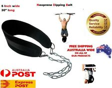 GYM BACK PULL UP CHIN DIPPING DIP WORKOUT BODY BUILDING WEIGHT LIFTING BELT