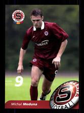 Michal Meduna Autogrammkarte AC Sparta Prag 2004-05 TOP AK + A 60499 OU