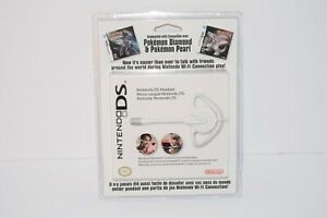 Official Nintendo DS Headset with Microphone White New Sealed