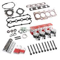 Engine Rebuild Overhaul Kit Pistons Seals for Audi A4 VW 2.0 TFSI BWA BPY EA113