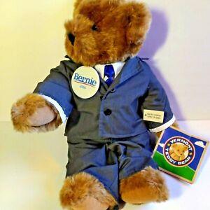 Vermont Teddy Bear Co Bernie Sander 2016 Special Edition 16'' Plush Handmade USA