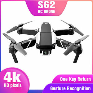 S62 FPV  RC  with 4K Camera Foldable Quadcopter Photo Video Toy fr P4X1