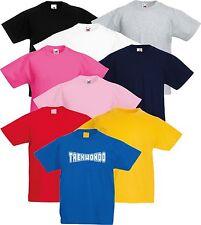 Taekwondo TKD Kid's 3 4 5 6 7 8 9 10 11 12 13 Martial Arts T-Shirt