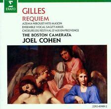 Gilles: Requiem / Cohen, Azema, Nirouet, Hite, Mason - CD