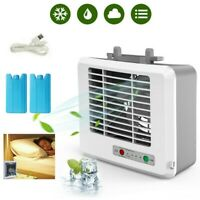 Portable Mini Conditioner Cool Cooling Artic Cooler Fan Humidifier Car Office