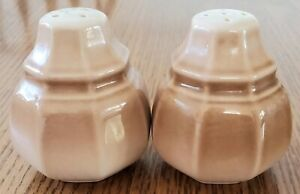 Vintage Mikasa Country Place Peach salt & pepper shakers FR300