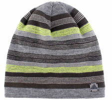 adidas Men's Keystone II Striped Beanie Lined Climawarm Moisture Wicking OSFA