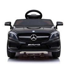 12V Kids Ride On Car Electric Licensed MERCEDES BENZ AMG GLA45 Remote Twin Motor