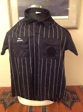 Score Referee M black and white Short Sleeve Jersey / Referee Uniform