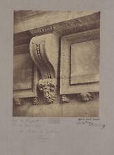 Arc de Nazareth Rue de Jérusalem Paris Photo Richebourg Vintage Albumine c1860